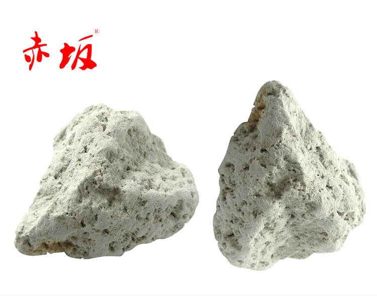 赤坂细菌石丨滴流细菌石丨鱼池滤材丨锦鲤鱼池过滤器材