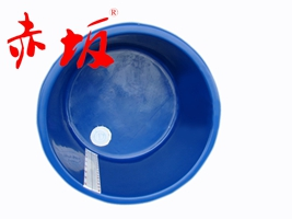 赤坂玻璃纤维圆形鱼盆丨锦鲤鱼盆丨圆形玻璃纤维盆60cm丨维度尺盆鱼盆