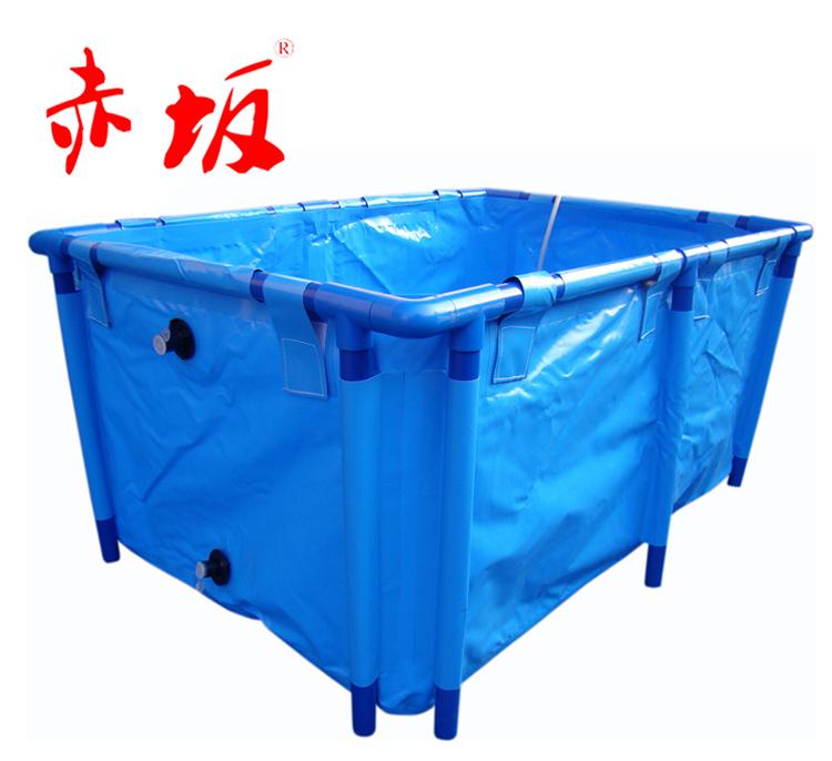 赤坂方型折叠鱼盆丨鱼池暂养折叠方盆丨折叠方盆丨鱼池暂养鱼盆